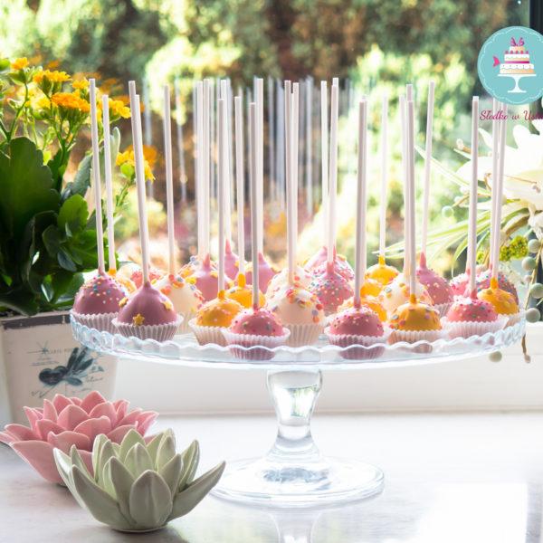 C106 - cake pop, pops, lizaki, słodki stół, kącik, candy, bar , na ślub, wesele, urodziny