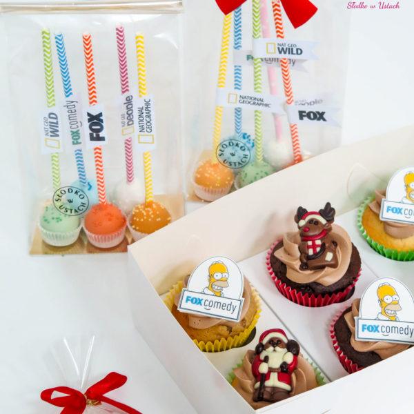 C109 - ciastka, muffiny, cupcakes, firmowe, słodki stół, serca kącik, candy, bar ,