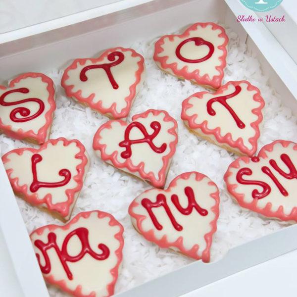 C111 - ciastka, kruche, prezenty, dzień kobiet, słodki stół, kącik, candy, bar , dzień mamy, urodziny
