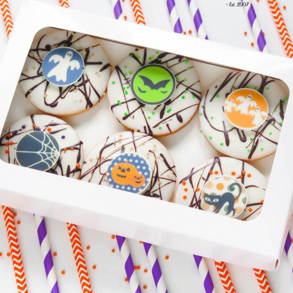 C116 - ciastka, kruche, prezenty, halloween, słodki stół, kącik, candy, bar ,
