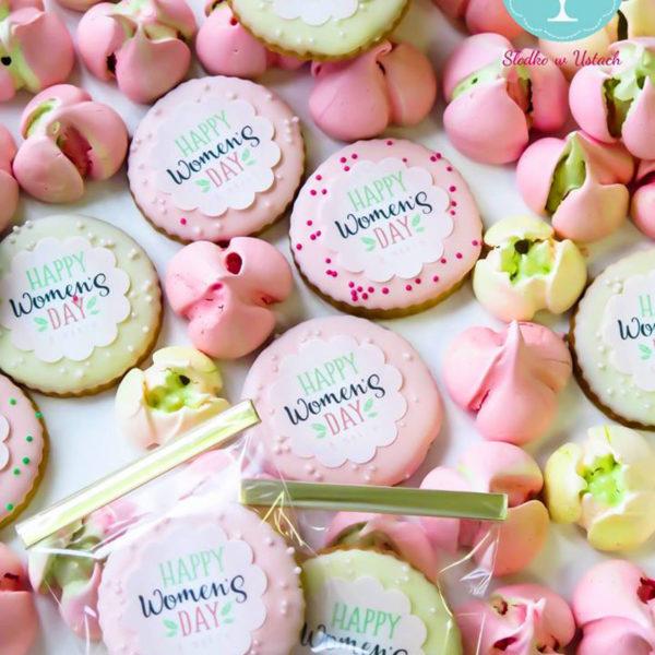 C23 - ciastka, kruche, prezenty, dzień kobiet, słodki stół, kącik, candy, bar , warszawa, z dostawą,