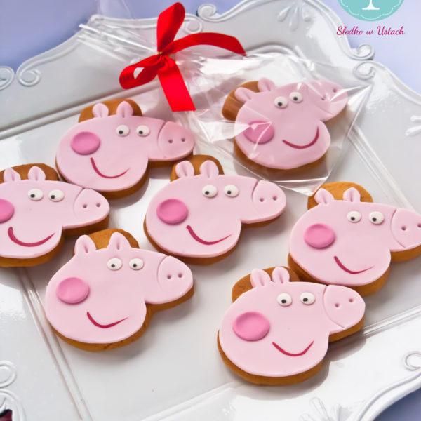 C25 - ciastka, kruche, prezenty, urodzinowe, świnka peppa, słodki stół, kącik, candy, bar , warszawa, z dostawą,