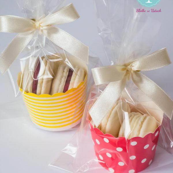 C75 - makaroniki, prezenty, słodki stół, kącik, candy, bar , warszawa, z dostawą, na ślub, wesele