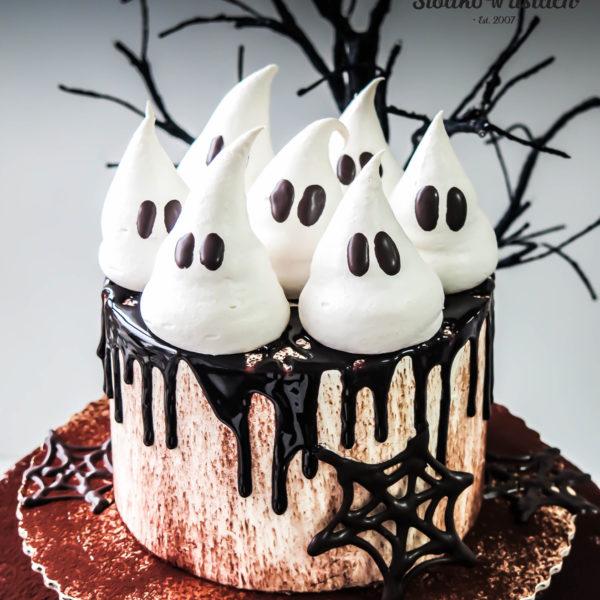 C77 - tort , halloween, słodycze firmowe, reklamowe, personalizowane, warszawa, z dostawą,