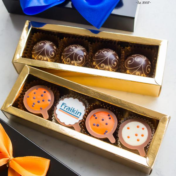 C82 - mini filiżanki czekoladowe, firmowe, dla firm, słodycze firmowe, reklamowe , event, słodki stół, prezenty, fraikin
