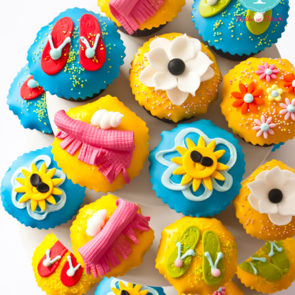 C96 - cupcakes, muffiny, wakacje, słodki stół, kącik, candy, bar, prezenty