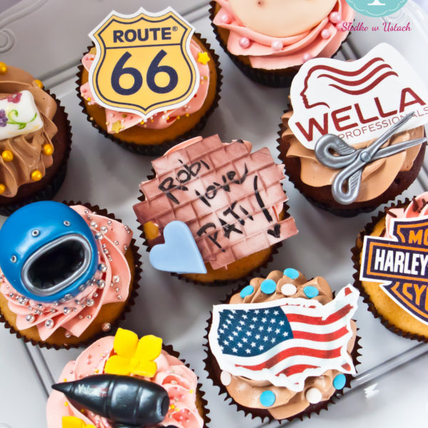 C97 - cupcakes, muffiny, pasja, hobby,słodki stół, kącik, candy, bar , prezenty