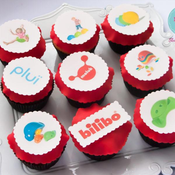 F19 - muffiny firmowe, cupcakes, babeczki firmowe, dla firm, słodycze firmowe, reklamowe, personalizowane, tublu, słodko w ustach,