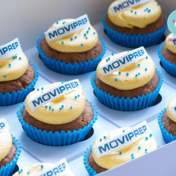 F42 - muffiny firmowe, cupcakes, babeczki firmowe, dla firm, słodycze firmowe, reklamowe, personalizowane, moviprep, słodko w ustach,