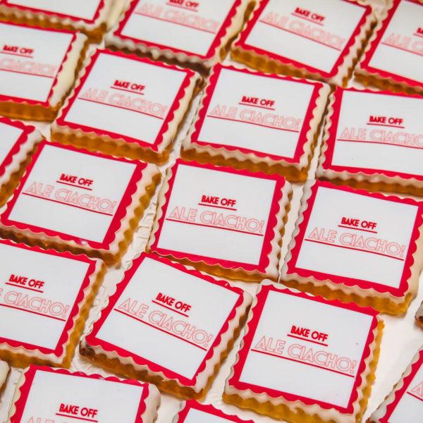 F50 - ciastka firmowe, kruche, dla firm, słodycze firmowe, reklamowe ,personalizowane, słodko w ustach, bake off ale ciacho