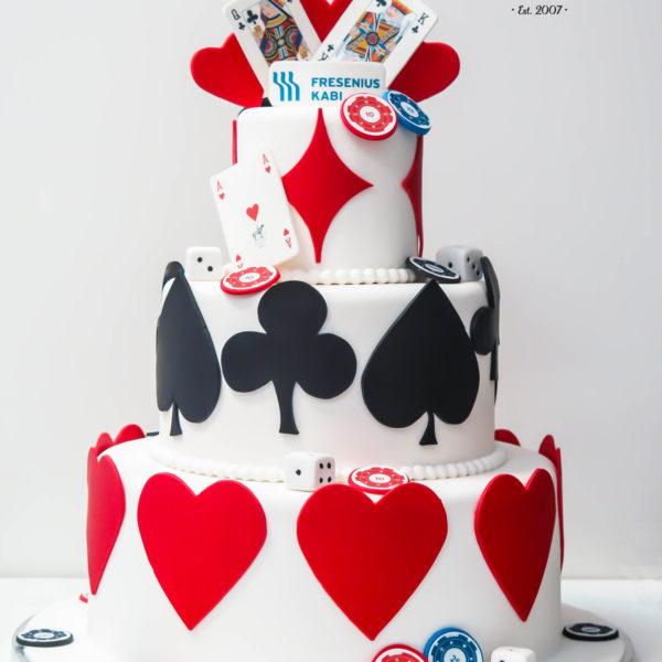F54 - tort firmowy, dla firm, słodycze firmowe, reklamowe, personalizowane, fresenius kabi , cake, warszawa, z dostawą