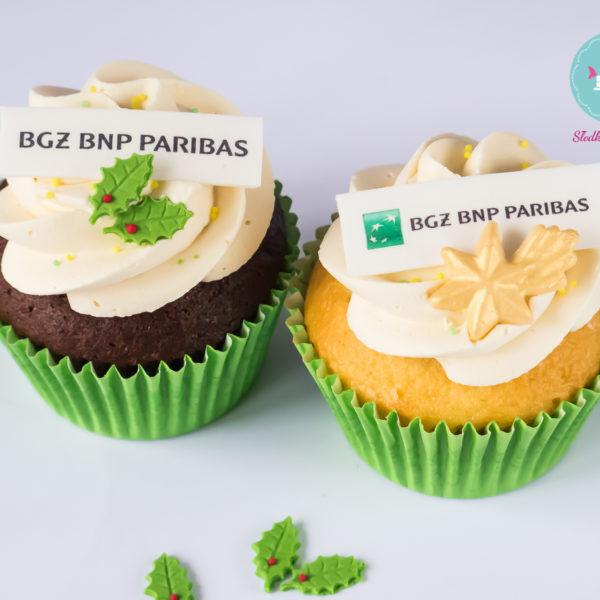 F68 - muffiny firmowe, cupcakes, babeczki firmowe, dla firm, słodycze firmowe, reklamowe, personalizowane, bgz bnp paribas, słodko w ustach, warszawa