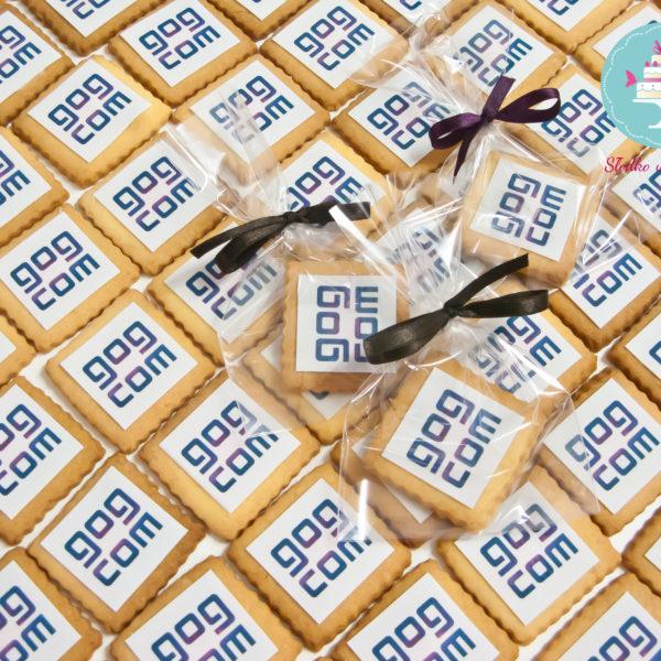 F73 - ciastka firmowe, kruche, dla firm, słodycze firmowe, reklamowe , personalizowane, słodko w ustach, gog