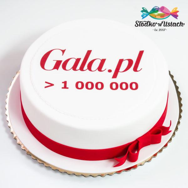 F88 - tort firmowy, dla firm, słodycze firmowe, reklamowe, personalizowane, gala.pl , cake, warszawa, z dostawą