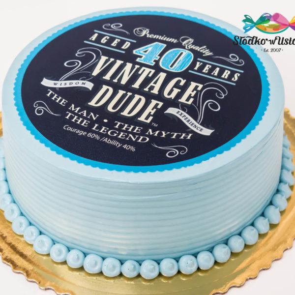 K8 - tort na 40 urodziny, czterdziestka, tort, warszawa, słodko w ustach,