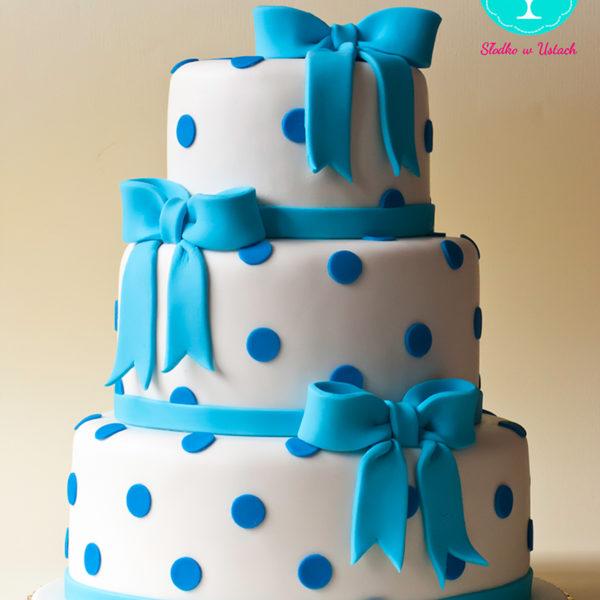 KCH12 - piękny, tort na chrzciny, chrzest, dla chłopca, christening, cake, wilanów
