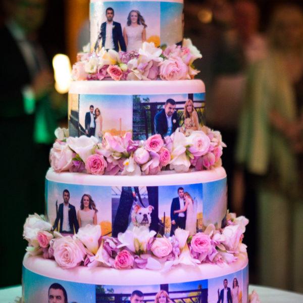 S10 - tort na ślub, wesele, ślubny, weselny, ze zdjęciami, zdjęciowy, multikolor, piętrowy , cake, z dostawą,