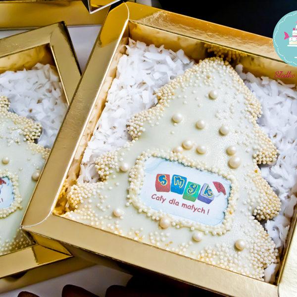 SW22 - pierniki, firmowe, dla firm, słodycze firmowe, reklamowe, personalizowane, smyk, słodko w ustach, warszawa, świąteczne, prezenty