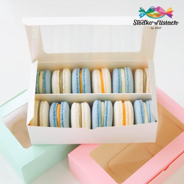 SW34 - makaroniki firmowe , dla firm, słodycze firmowe, reklamowe , personalizowane, słodko w ustach,, świąteczne, prezenty
