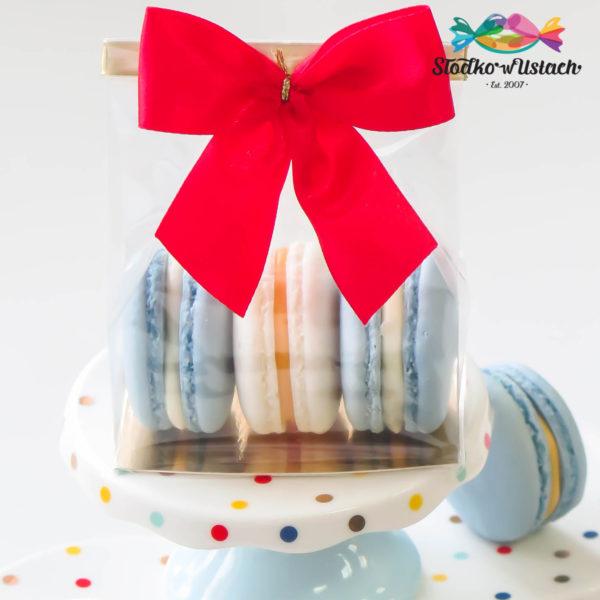 SW37 - makaroniki firmowe , dla firm, słodycze firmowe, reklamowe , personalizowane, słodko w ustach,, świąteczne, prezenty