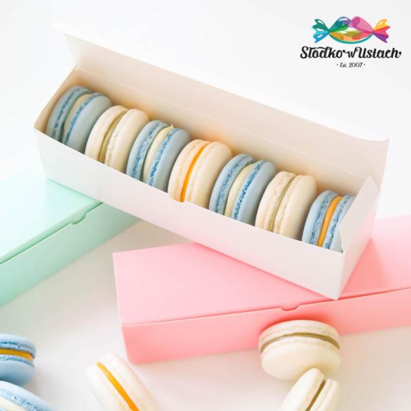 SW39 - makaroniki firmowe , dla firm, słodycze firmowe, reklamowe , personalizowane, słodko w ustach,, świąteczne, prezenty