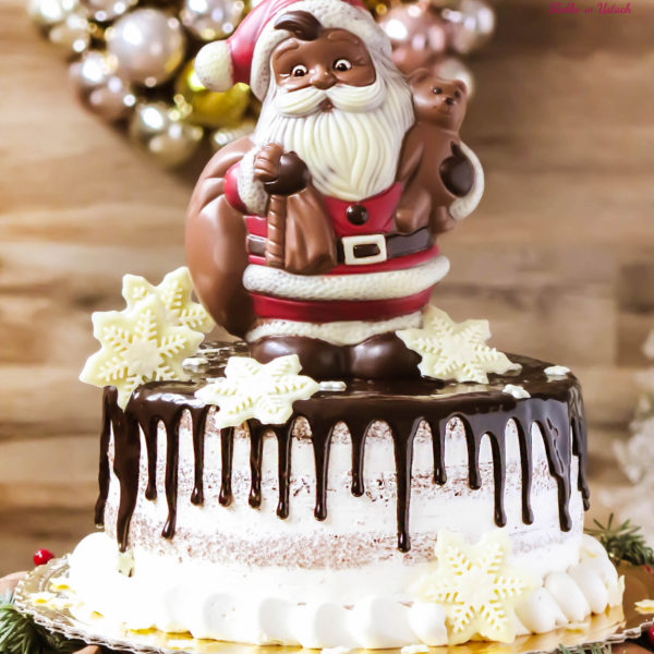 SW45 - tort świąteczny, dla firm, słodycze firmowe, reklamowe, personalizowane, słodko w ustach, warszawa, świąteczne, prezenty, z dostawą, mikołaj