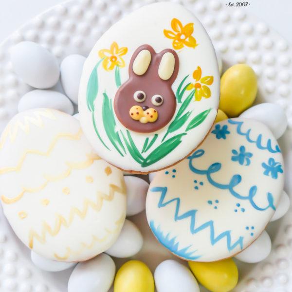 SW49 - ciastka kruche, świąteczne, dla firm, słodycze firmowe, reklamowe, personalizowane, słodko w ustach, warszawa, świąteczne, prezenty, wielkanoc, handmade, jaja wielkanocne