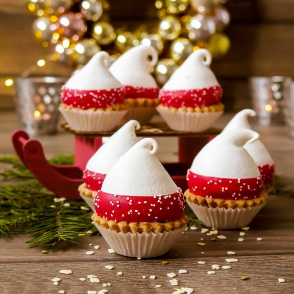 SW5 - babeczki kruche, bezy, mikołaje, dla firm, słodycze firmowe, reklamowe, personalizowane, słodko w ustach, warszawa, świąteczne, prezenty, z dostawą