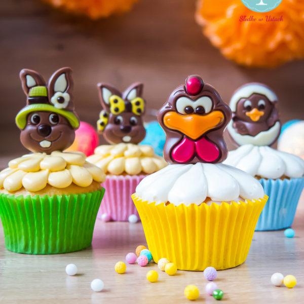 SW52 - muffiny świąteczne, cupcakes, babeczki firmowe, dla firm, słodycze firmowe, reklamowe, personalizowane,, słodko w ustach, warszawa, wielkanoc