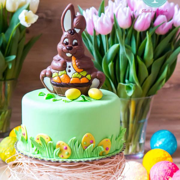 SW57 - tort świąteczny, wielkanoc, dla firm, słodycze firmowe, reklamowe, personalizowane, słodko w ustach, warszawa, świąteczne, prezenty, z dostawą, zając