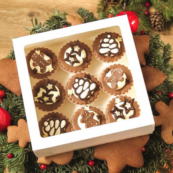 SW6 - babeczki kruche, świąteczne, prezenty, z dostawą