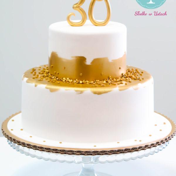 U26 - tort urodzinowy, na urodziny, 30, trzydziestka, artystyczny, warszawa, z dostawą,
