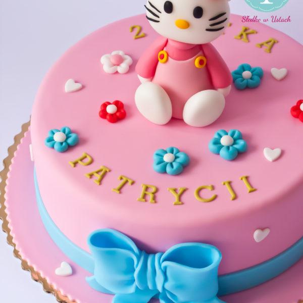 U49 - tort urodzinowy, na urodziny, dla dzieci, artystyczny, hello kitty, warszawa