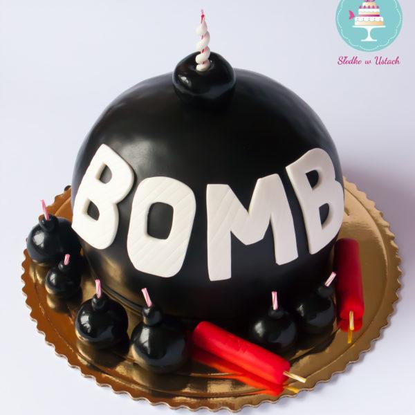U64 - tort urodzinowy, na urodziny, dla dzieci, artystyczny, bombowy