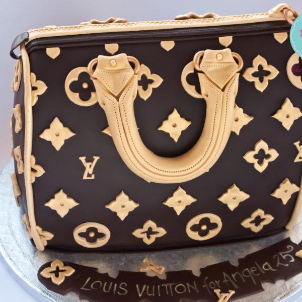 U66 - tort urodzinowy, na urodziny, artystyczny, hobby, pasja ,torebka, louis vuitton, warszawa