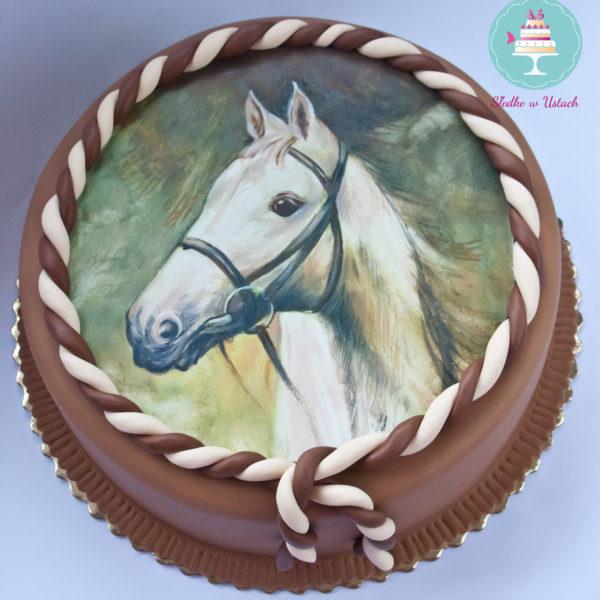 U67 - tort urodzinowy, na urodziny, dla dzieci, artystyczny, koń, warszawa