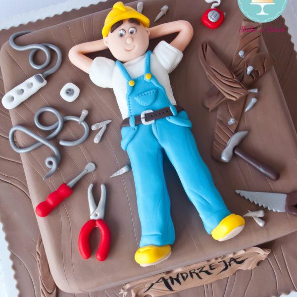 U68 - tort urodzinowy, na urodziny, artystyczny, hobby, pasja ,złota rączka, majsterkowanie, warszawa