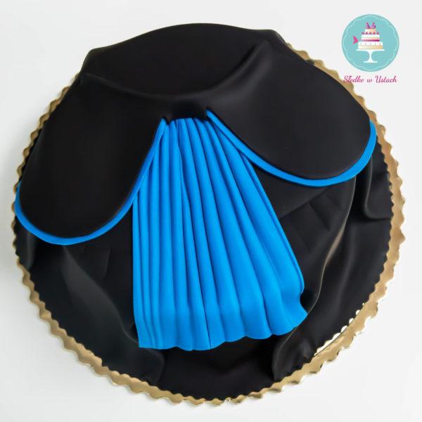 U70 - tort urodzinowy, na urodziny, artystyczny, toga, warszawa