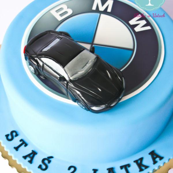 U71 - tort urodzinowy, na urodziny, dla dzieci, artystyczny, auto, bmw, warszawa