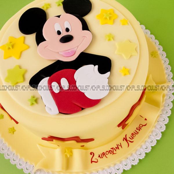 U73 - tort urodzinowy, na urodziny, dla dzieci, artystyczny, myszka mickey, warszawa