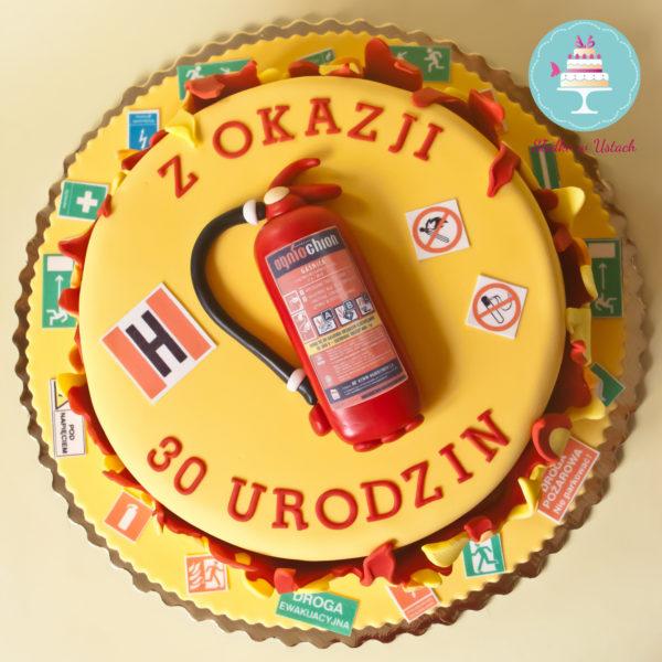 U76 - tort urodzinowy, na urodziny, artystyczny, bhp, warszawa