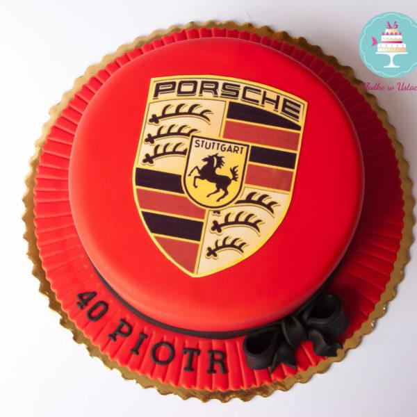 U78 - tort urodzinowy, na urodziny, artystyczny, dla faceta, porsche, warszawa