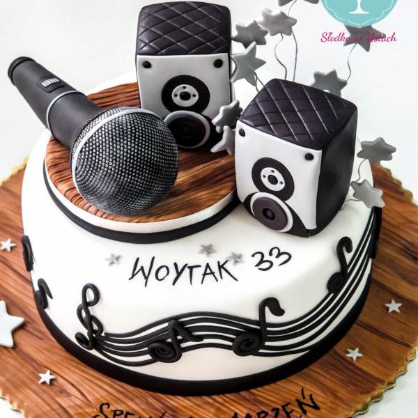 U8 - tort urodzinowy, na urodziny, muzyczny, artystyczny, warszawa, z dostawą,