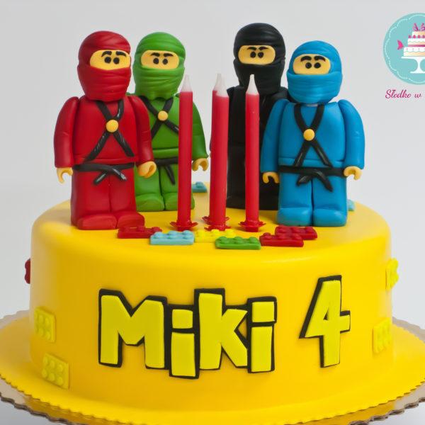U83 - tort urodzinowy, na urodziny, dla dzieci, artystyczny, lego, ninjago, warszawa