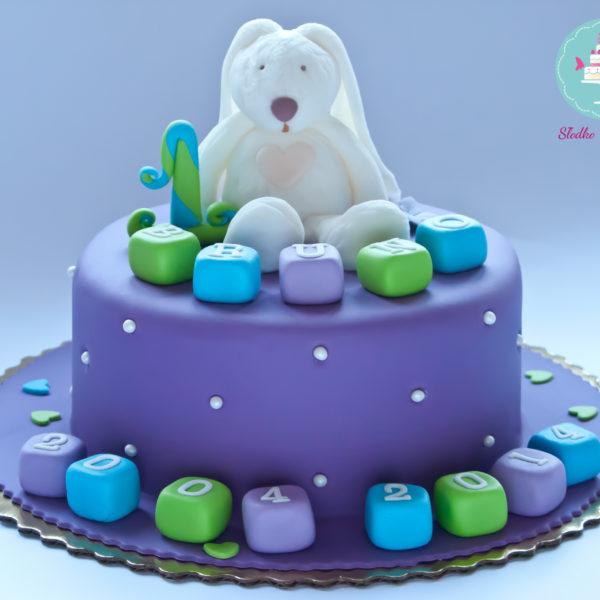 U87 - tort urodzinowy, na urodziny, dla dzieci, przytulanka, artystyczny, warszawa, z dostawą,