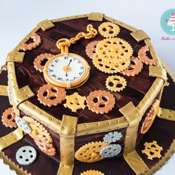U9 - tort urodzinowy, na urodziny, steampunk, artystyczny, warszawa, z dostawą,