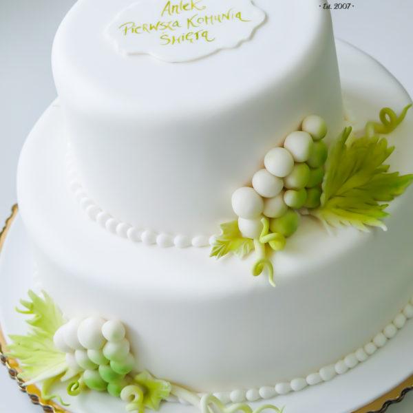 KCH48 - tort na komunie, dla dzieci, artystyczny, komunijny, warszawa
