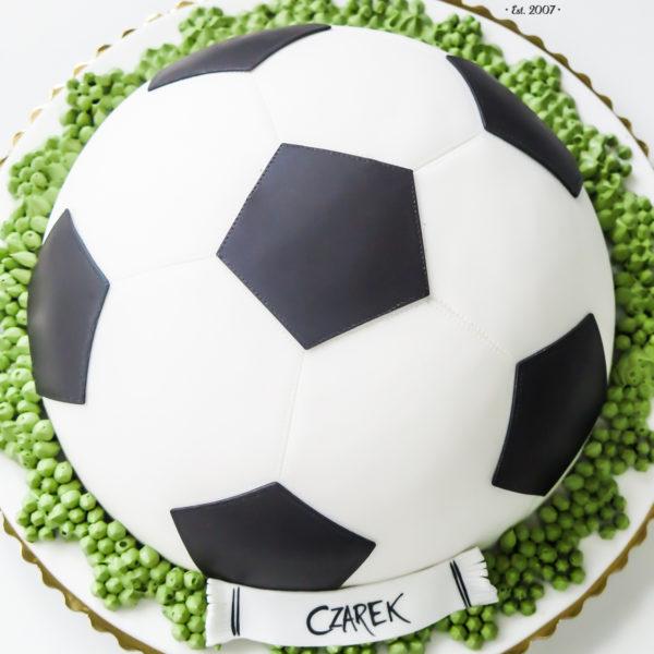 LM11 - tort urodzinowy, na urodziny, dla dzieci, artystyczny, last minute, piłka