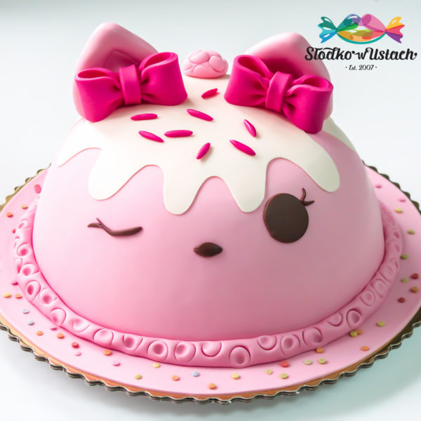LM8 - tort urodzinowy, na urodziny, dla dzieci, artystyczny, last minute, num noms