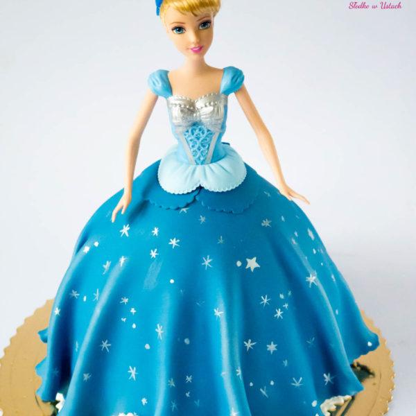 U143 - tort urodzinowy, na urodziny, dla dzieci, artystyczny, barbie, księżniczka, konstancin jeziorna, warszawa, piaseczno